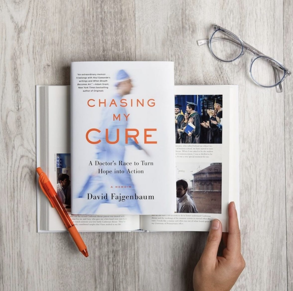 Chasing My Cure book cover 2019