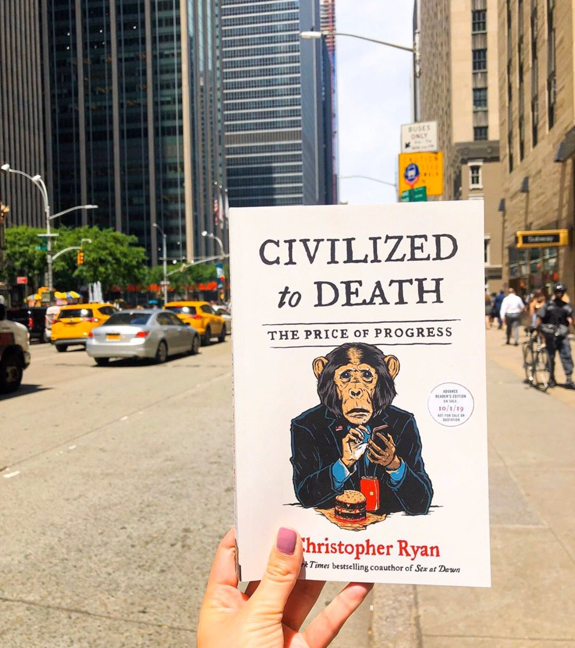 Civilized to death 2019 book cover