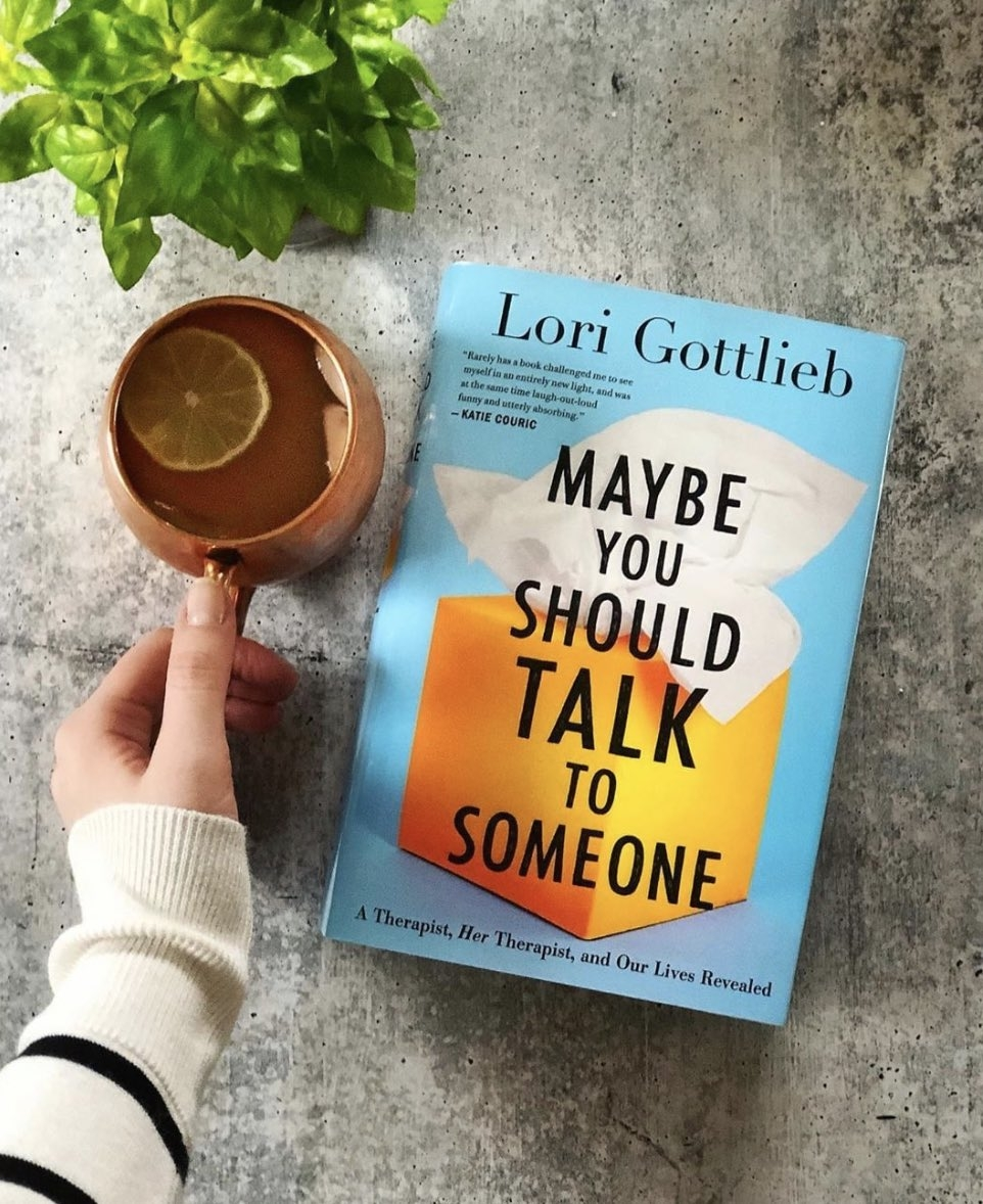 maybe you should talk to someone 2019 book cover