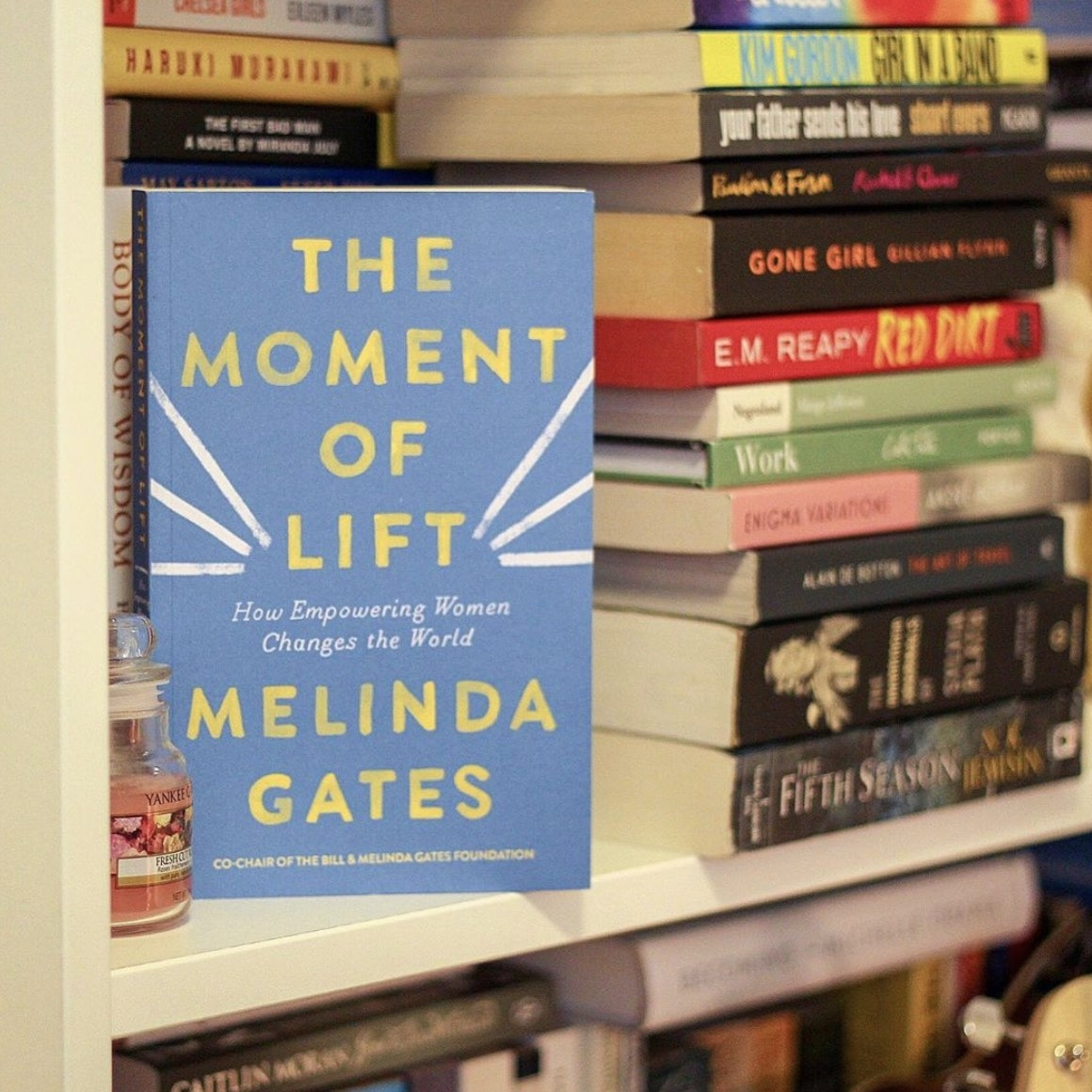 The Moment Of Lift by Melinda Gates book cover 2019