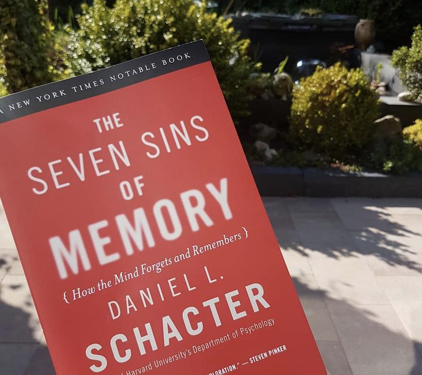 Семь грехов памяти книга